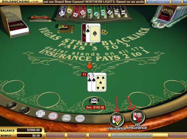 blackjack game free